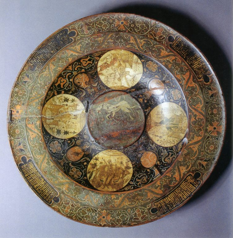 "Dish ""Seasons of the year"". <br/>Second half of 17th century"