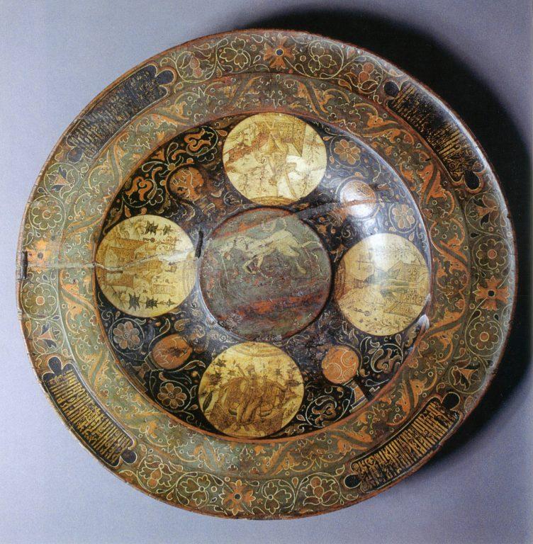Блюдо «Времена года». Вторая половина 17 века