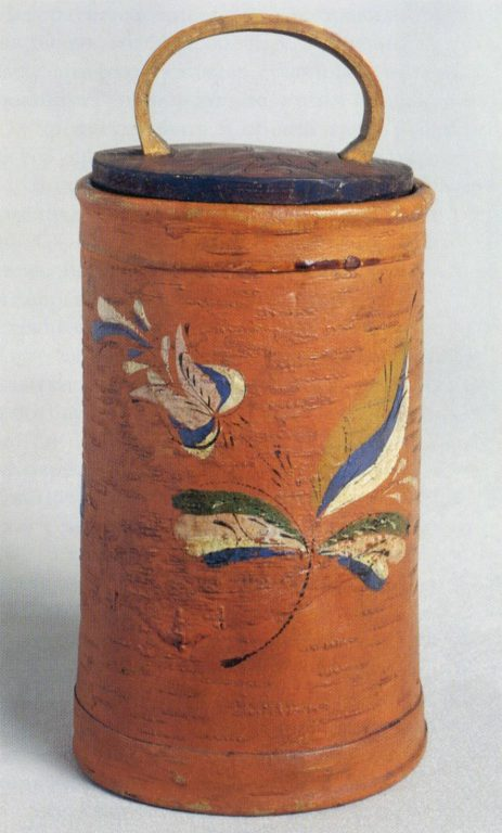 Tues (birch bark container). <br/>Late 19th - early 20th century