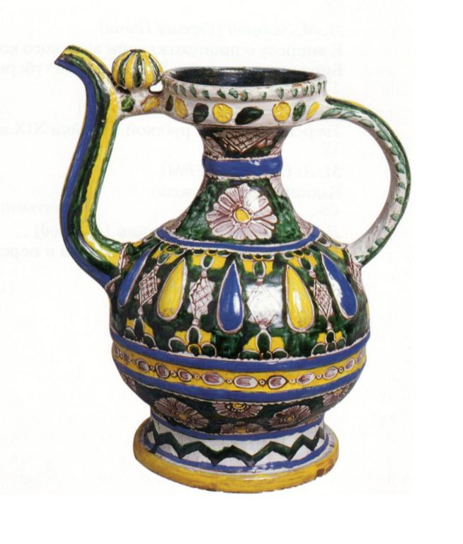 Kumgan (high pitcher with a spout). 18th century