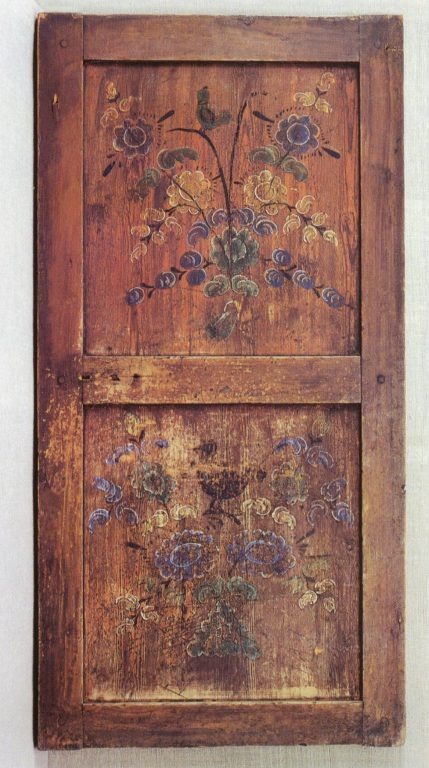 Storeroom door panel of the P. Kolmogortsev house