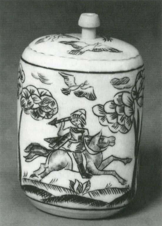 Табакерка «Охота». 1994 год