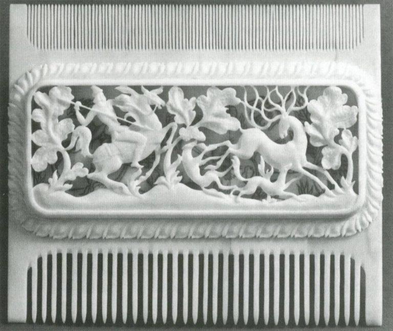 Гребень «Охота на оленя». <br/>1982 год
