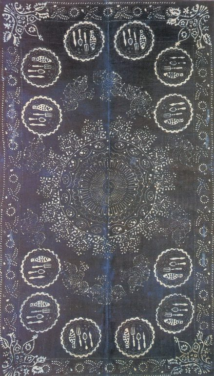 Tablecloth. <br/>19th century