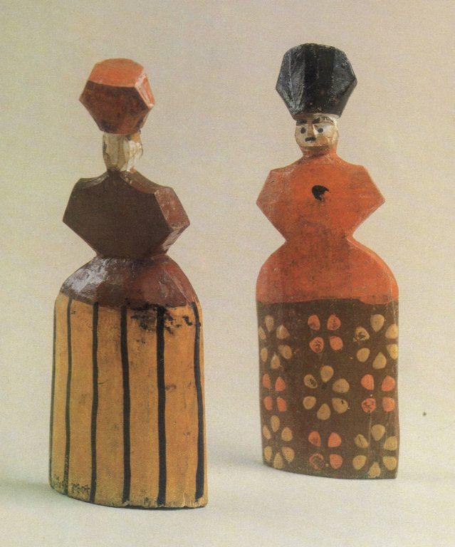Woman-doll. 19th century