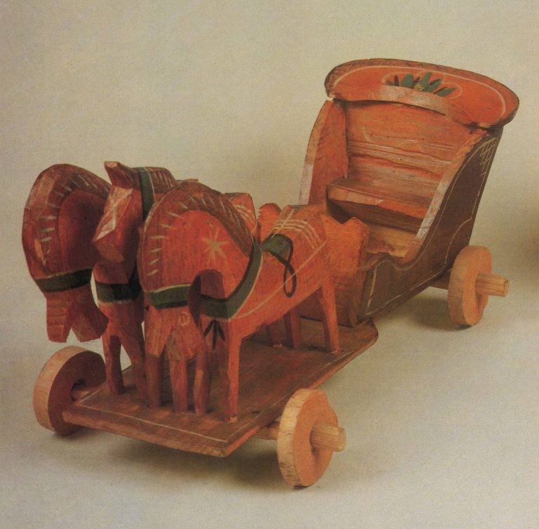 "Toy ""Troika"". <br/>1930ies"