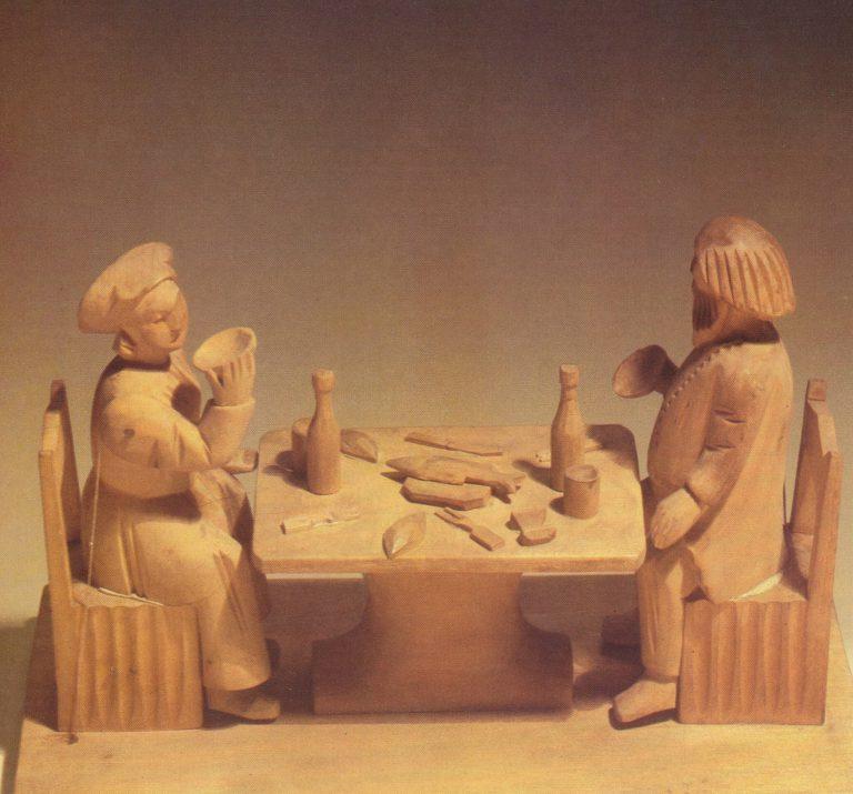"Toy ""Dinner"". 19th century"