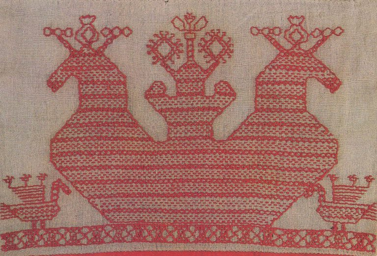 Valance. <br/>Late 19th century