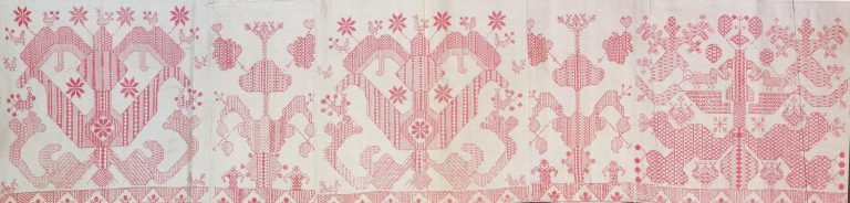 Valance. Detail. <br/>19th century