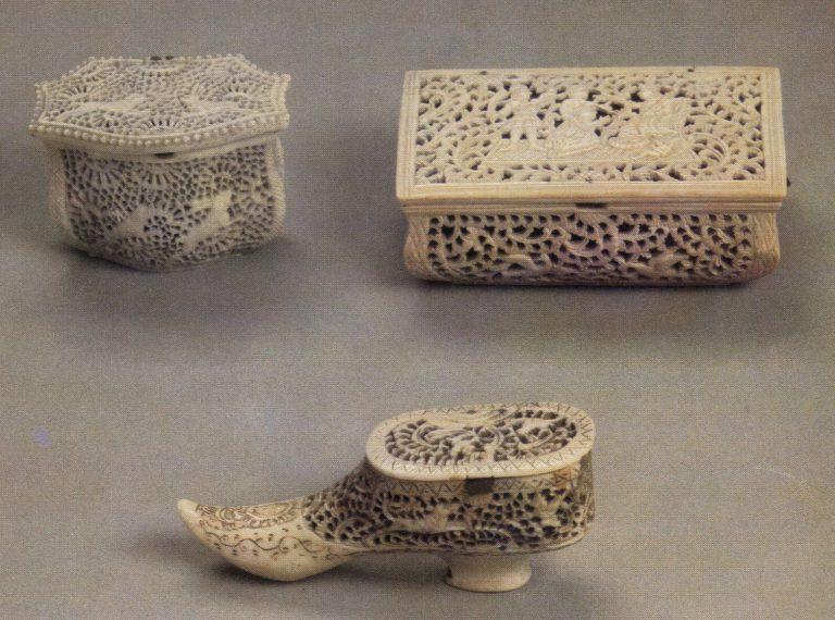 Туалетные коробочки. <br/>1760-е годы