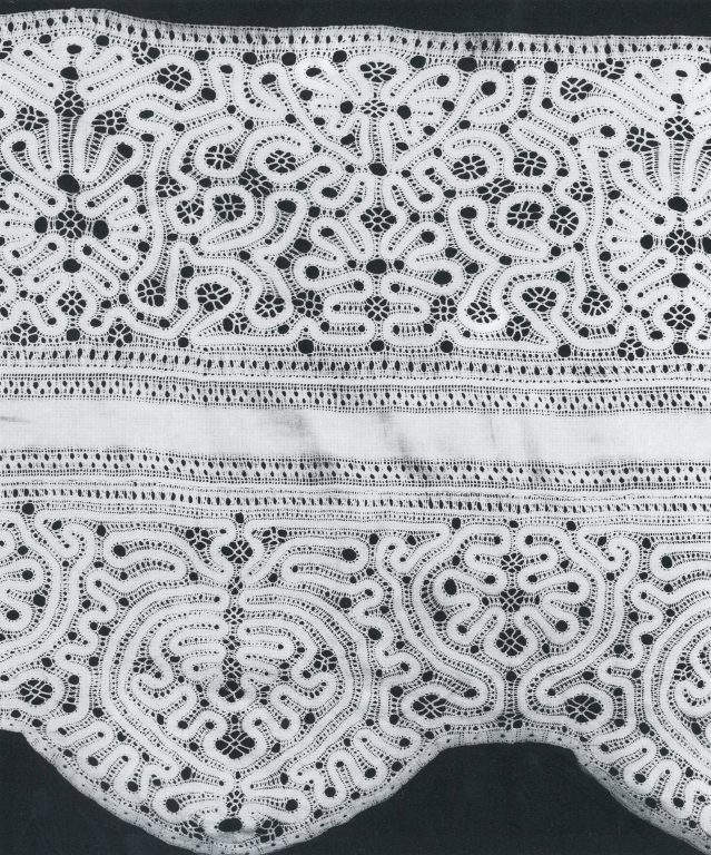 Valance. Detail. <br/>Early 18th - late 19 th century
