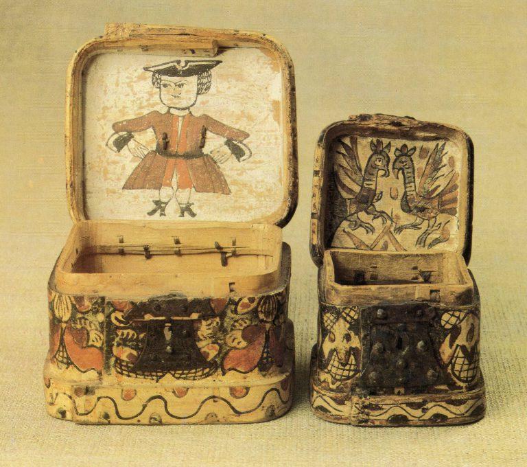 Коробки. <br/>18 век
