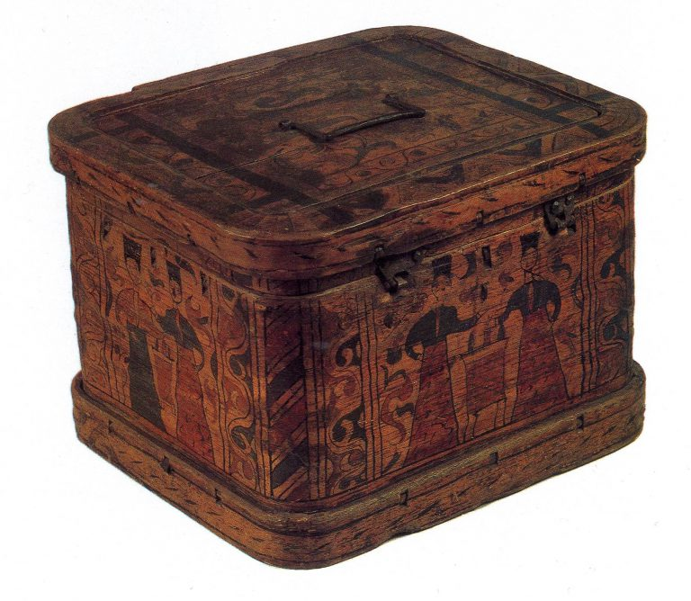 Bast box. Late 17th - early 18th century