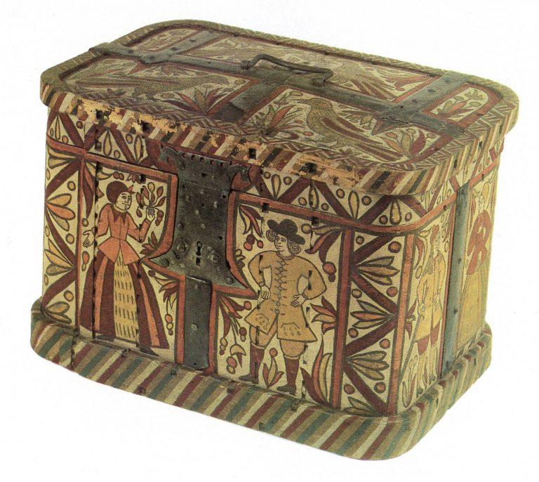 Bast box. <br/>18th century
