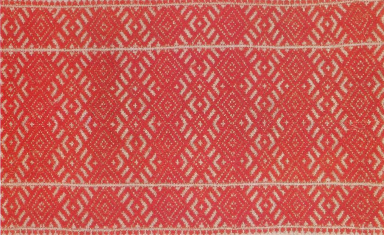 Towel. Detail . <br/>Early 20th century