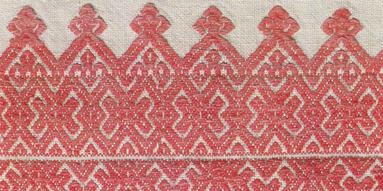 Valance. Detail. <br/>Mid-19th century