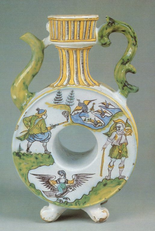 Kvassnik (vessel for kvass storage). <br/>Second half of 18th century