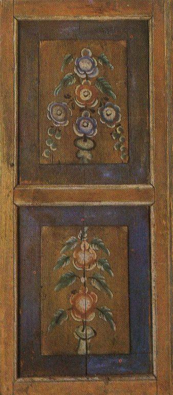 Дверь перегородки. <br/>1915 год
