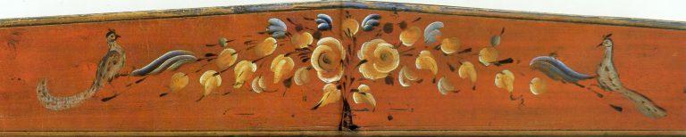 Грядка. Фрагмент росписи. <br/>Начало 20 века