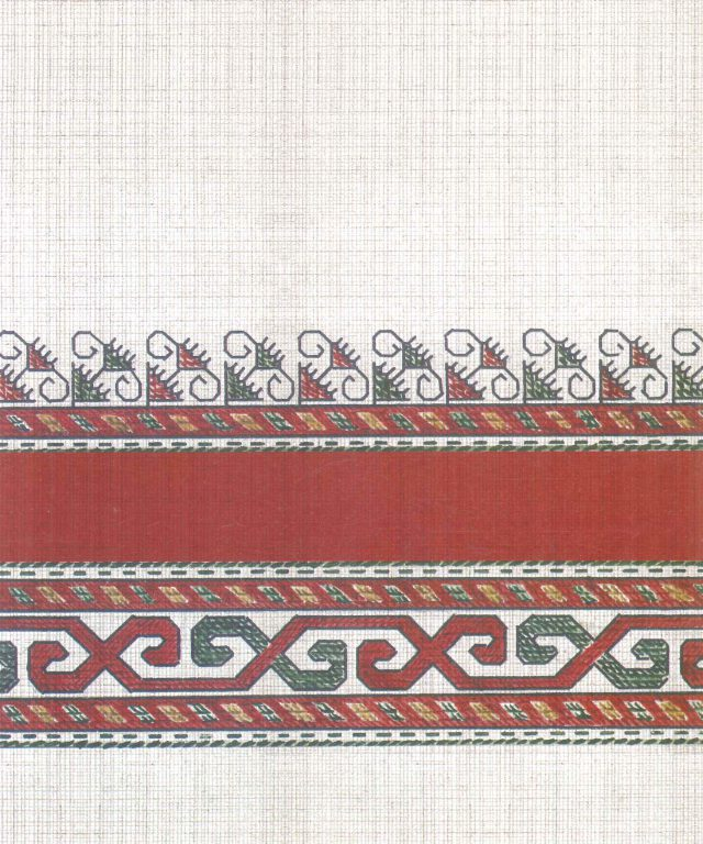 Male robe's pattern. Fragment. <br/>First half of 19th century