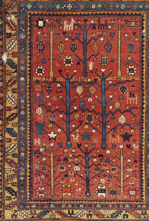 Pile rug. <br/>19th century