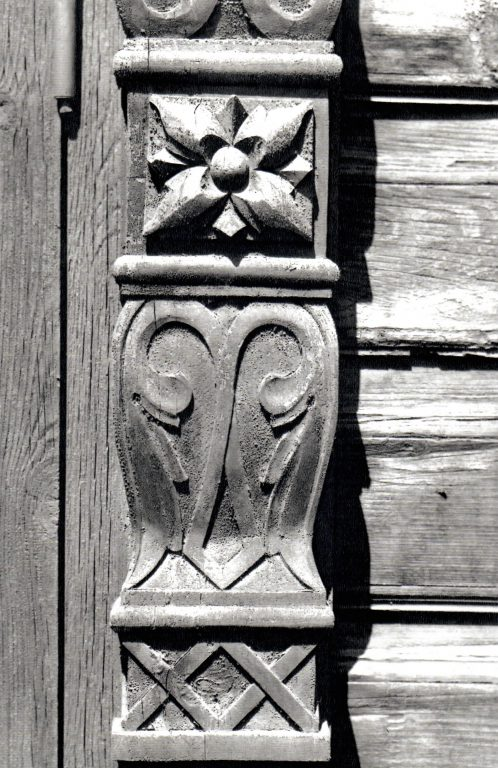 Pilaster of a window frame. <br/>Second half of 19th century - early of 20th century