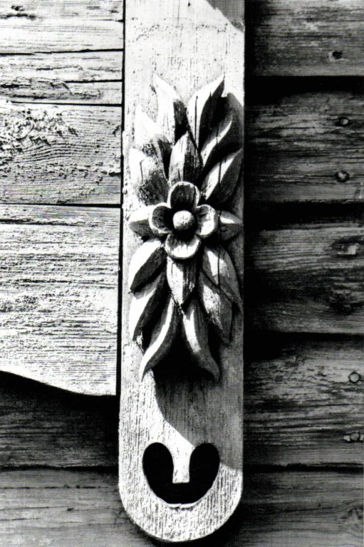 Window frame. Detail. <br/>Early 20th century