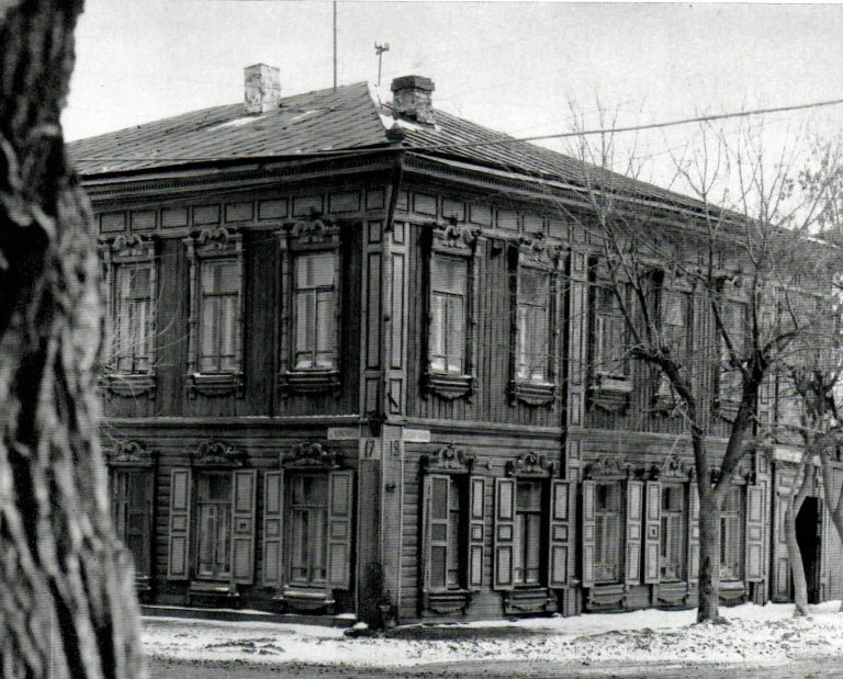 General view of a house. <br/>Second half of 19th century - early of 20th century