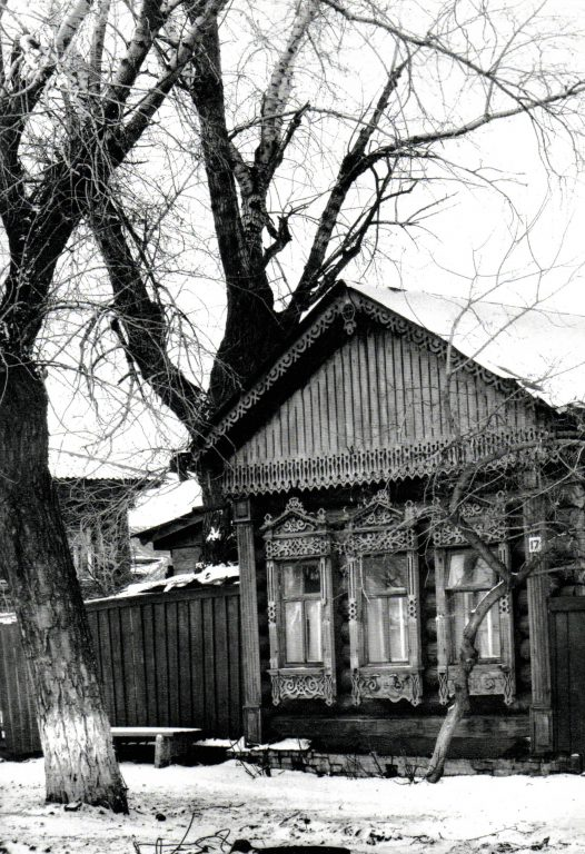 Facade of a house. <br/>Second half of 19th century - early of 20th century