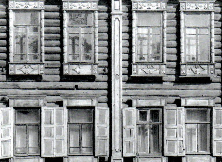 Фасад дома. <br/>Вторая половина 19 века - начало 20 века