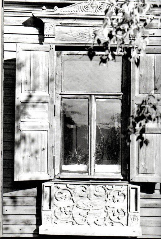 Наличник второго этажа. Середина 19 века