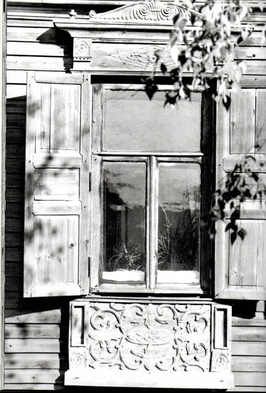 Наличник второго этажа. <br/>Середина 19 века