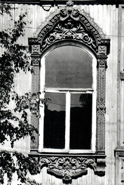 Central window of the main part of the facade  . Second half of 19th century - early of 20th century