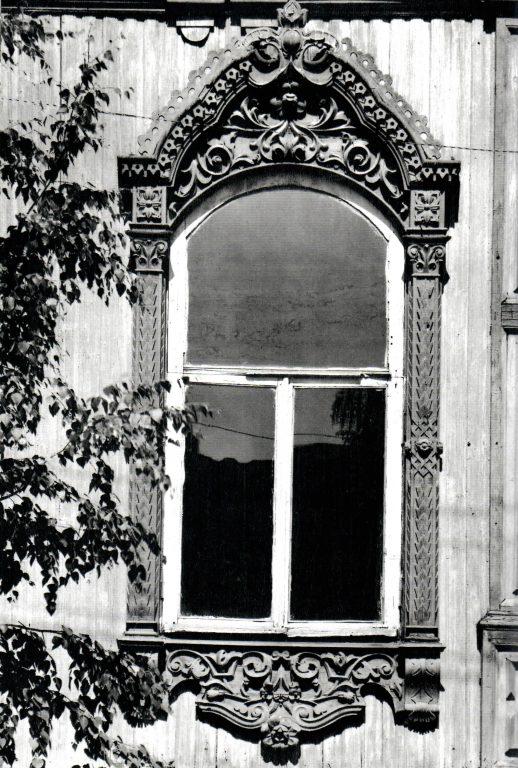 Центральное окно главного фасада. Вторая половина 19 века - начало 20 века