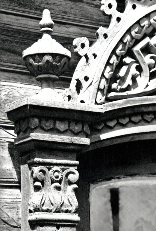 Fragment of a window frame . <br/>Second half of 19th century - early of 20th century