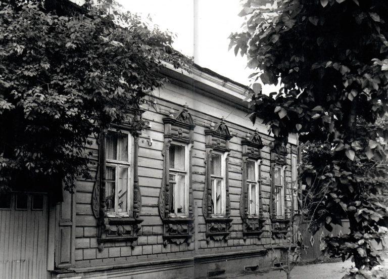 Наличник и фасад дома. <br/>Вторая половина 19 века - начало 20 века
