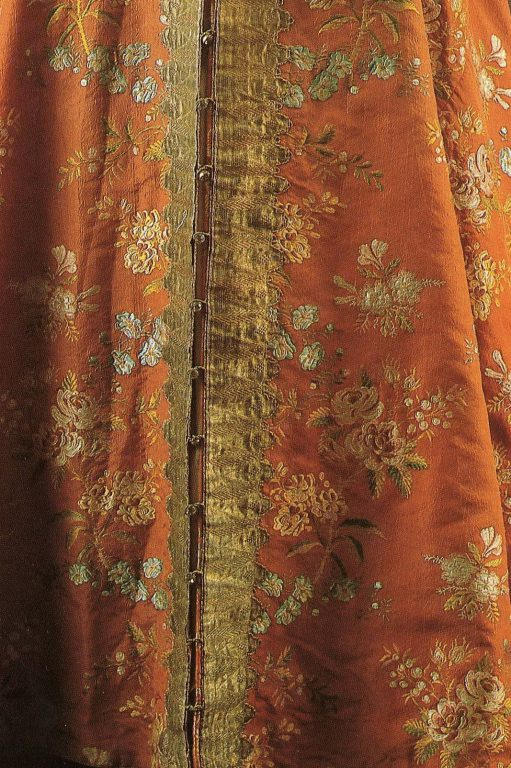 Sarafan. Detail. Second half of the 18th century