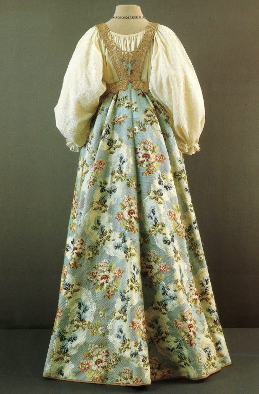 Woman's festive clothes. Early 19th century