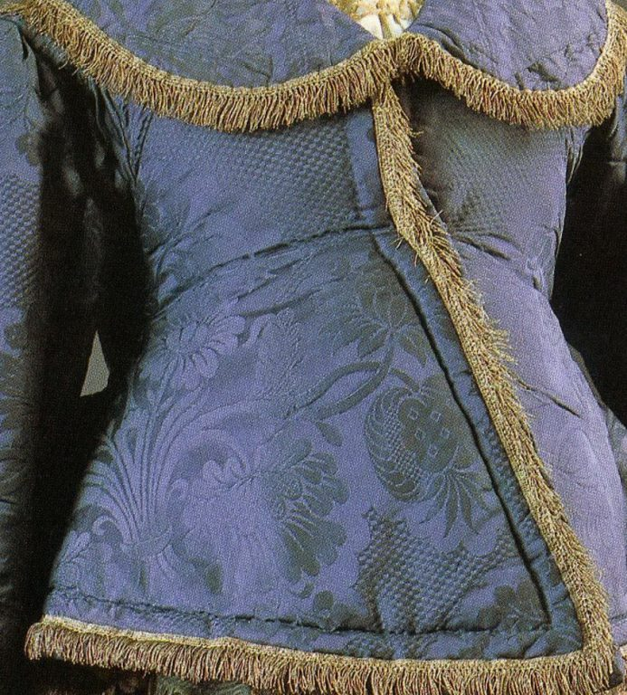 Dushegreya jacket. Detail. <br/>First half of the 19th century