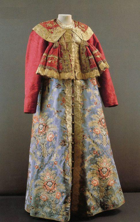 Праздничная одежда. <br/>Конец 18 века - начало 19 века