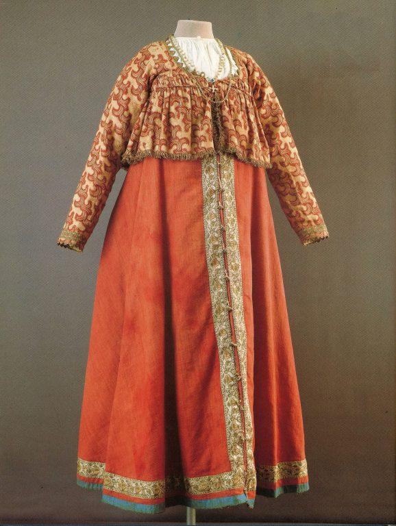 Праздничная одежда. Первая половина 19 века