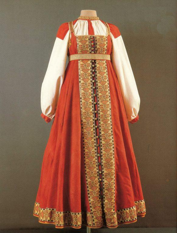 Праздничная одежда. <br/>Первая половина 19 века