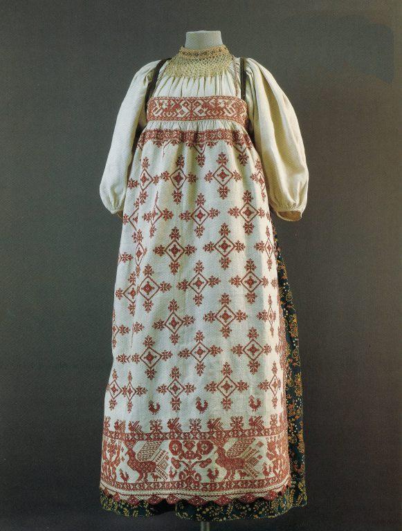 Праздничная одежда. <br/>Вторая половина19 века
