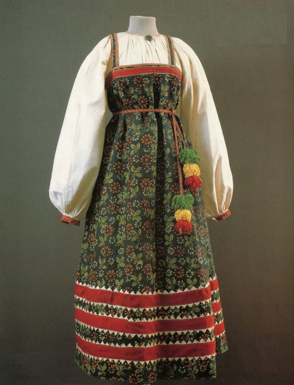 Peasant woman's clothes. <br/>Late 19th century
