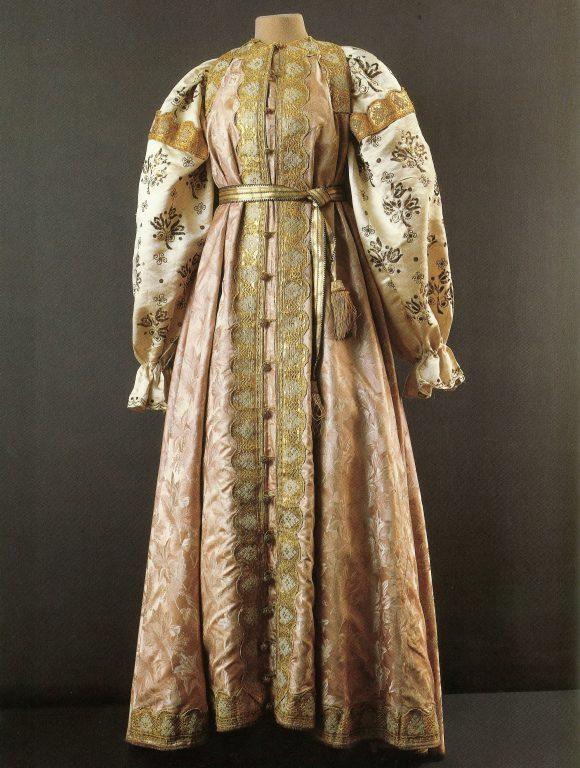 Одежда уральской казачки. <br/>Конец 19 века