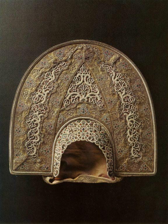 Kokoshnik headdress. <br/>Second half of the 18th century
