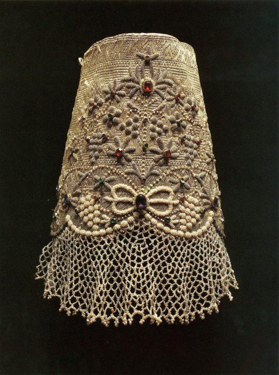 Unmarried girl's headdress. Early 19th century