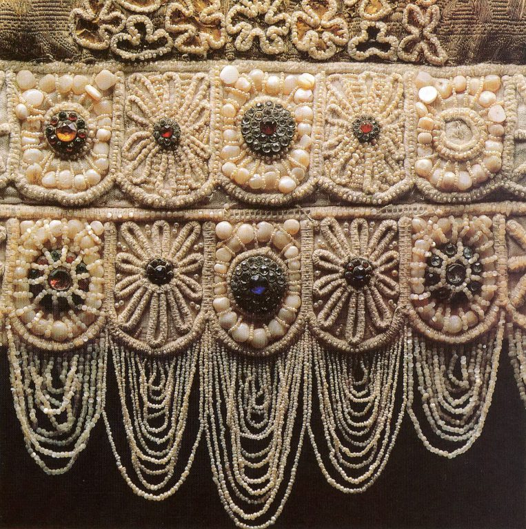Unmarried girl's headdress. First half of the 19th century