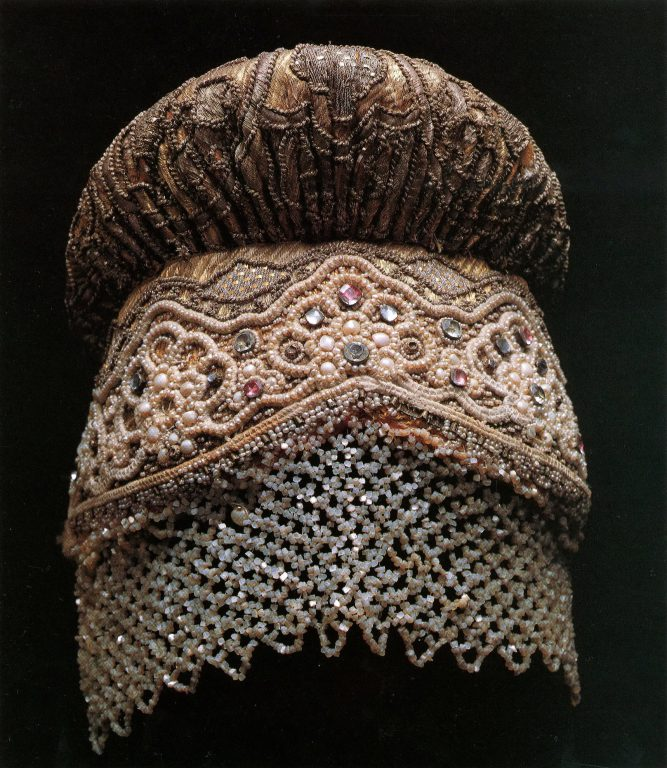 Sbornik headdress. First half of the 19th century