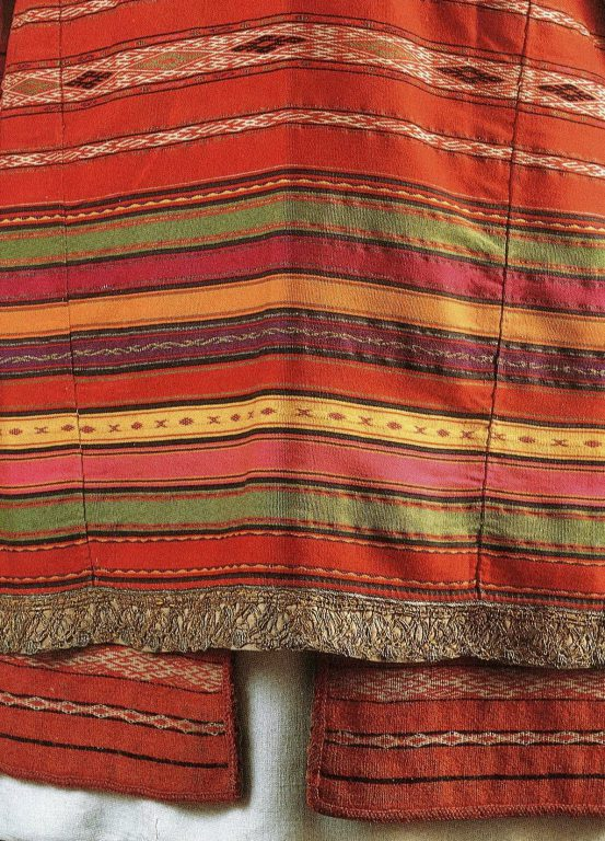 Apron. Detail. Late 18th - early 19th centuries